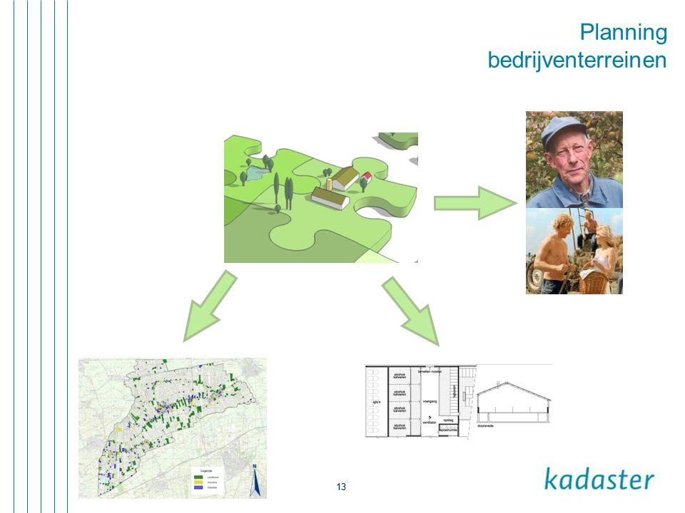 13 Planning bedrijventerreinen 13