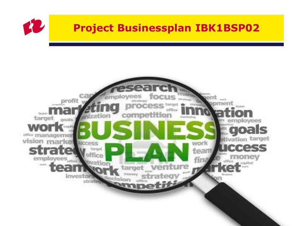 Project Businessplan IBK1BSP02