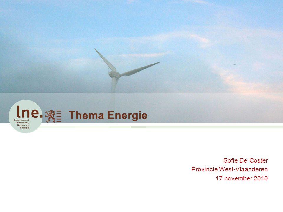 Thema Energie – Onderscheidingsniveau (8) Art.