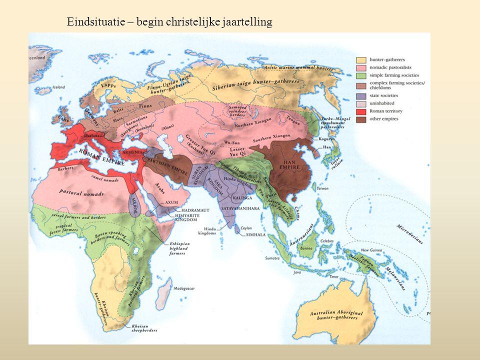 Niet vergeten: China Qin verovert de andere Chinese staten  begin van het keizerrijk Grote bloei c 200 v.