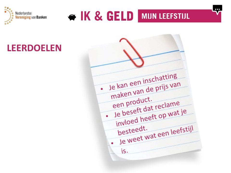 WAT VOOR GELDTYPE BEN JIJ? Doe de test! Bron: www.edgie.nl / Stichting WeetWatJeBesteedt / Nibud
