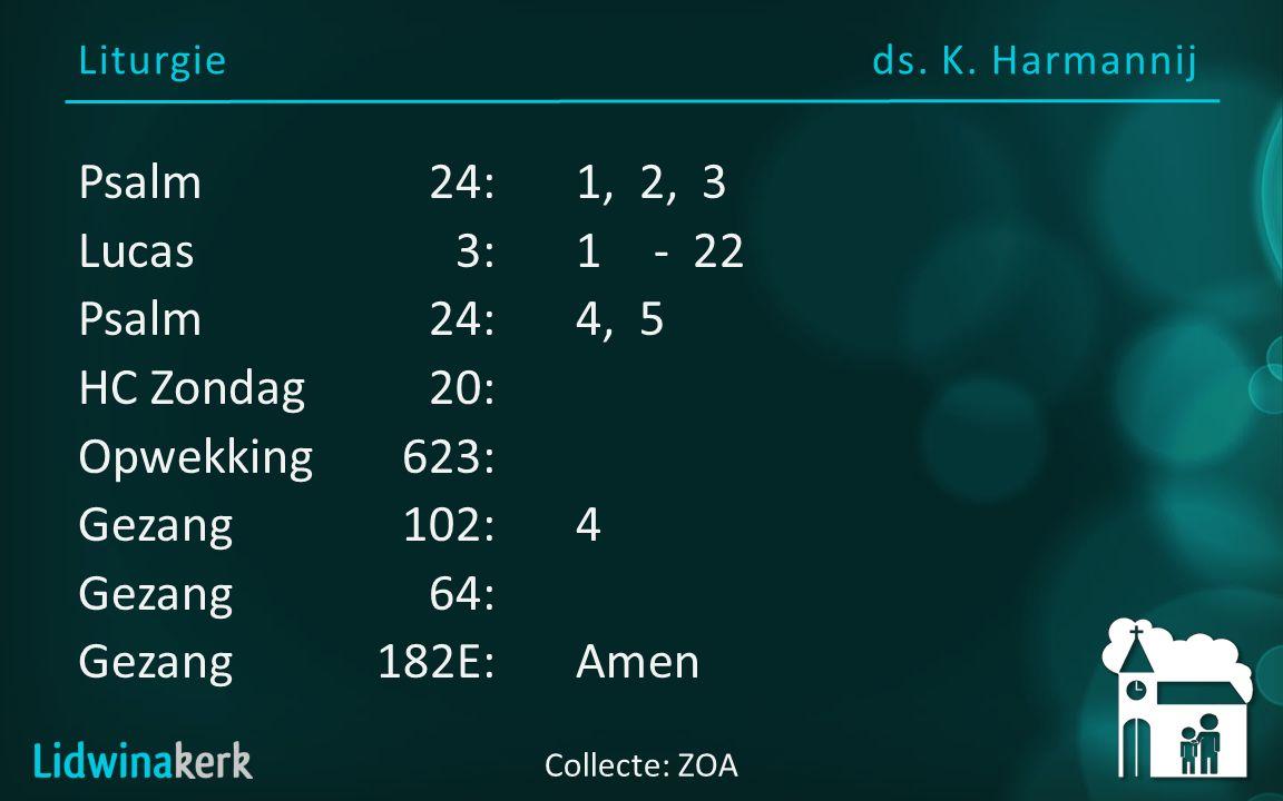 Opwekking 623 Heer, wees welkom met uw Geest en doorwaai nu heel het huis.