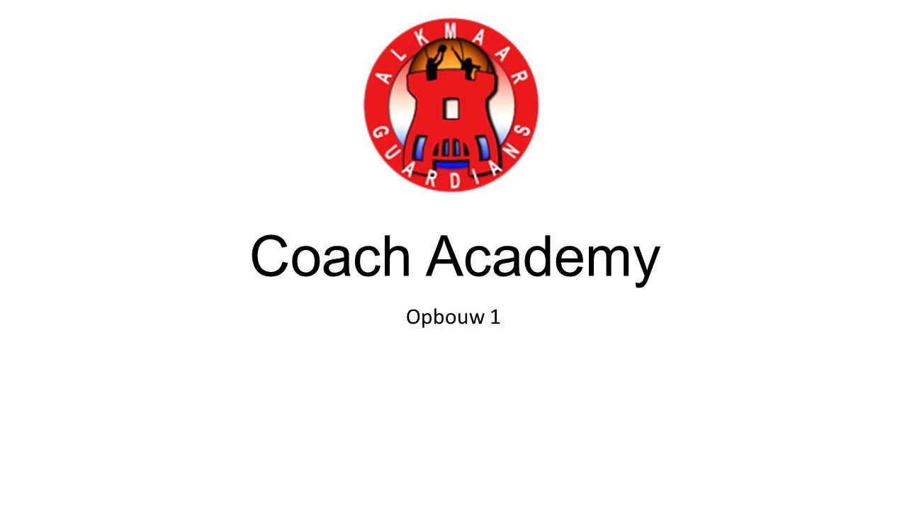 Coach Academy Opbouw 1