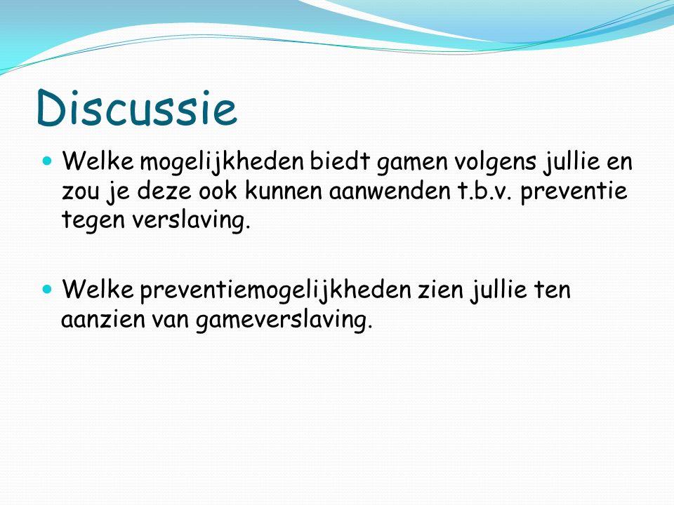 Presentatie http://www.youtube.com/watch?v=lpet4TJi41A http://www.youtube.com/watch?v=ZBAlD5Wysm8 https://www.youtube.com/watch?v=Ur7V7- Q6C4Q&index=3&list=PLkfxY0Glq1_7in6M3iUPtP2rv boJXG3RB https://www.youtube.com/watch?v=Ur7V7- Q6C4Q&index=3&list=PLkfxY0Glq1_7in6M3iUPtP2rv boJXG3RB http://www.xperience-tv.nl/hoe-voed-ik-mijn-ouders- op-mbt-gamen http://www.xperience-tv.nl/hoe-voed-ik-mijn-ouders- op-mbt-gamen