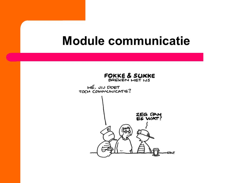 Module communicatie