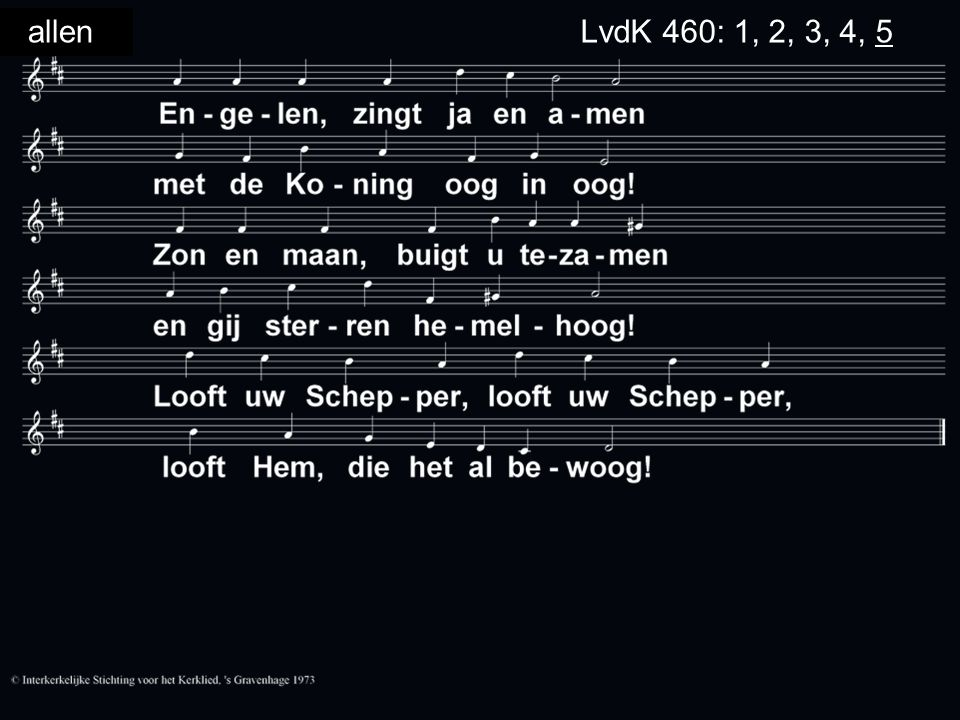 allenLvdK 460: 1, 2, 3, 4, 5