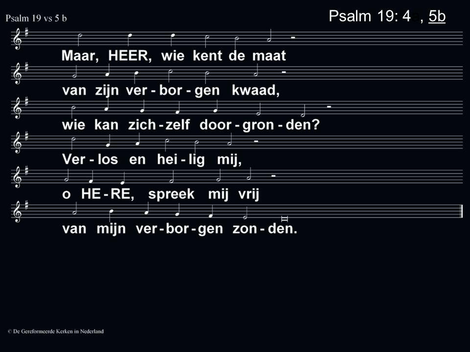 Psalm 19: 4a, 5b