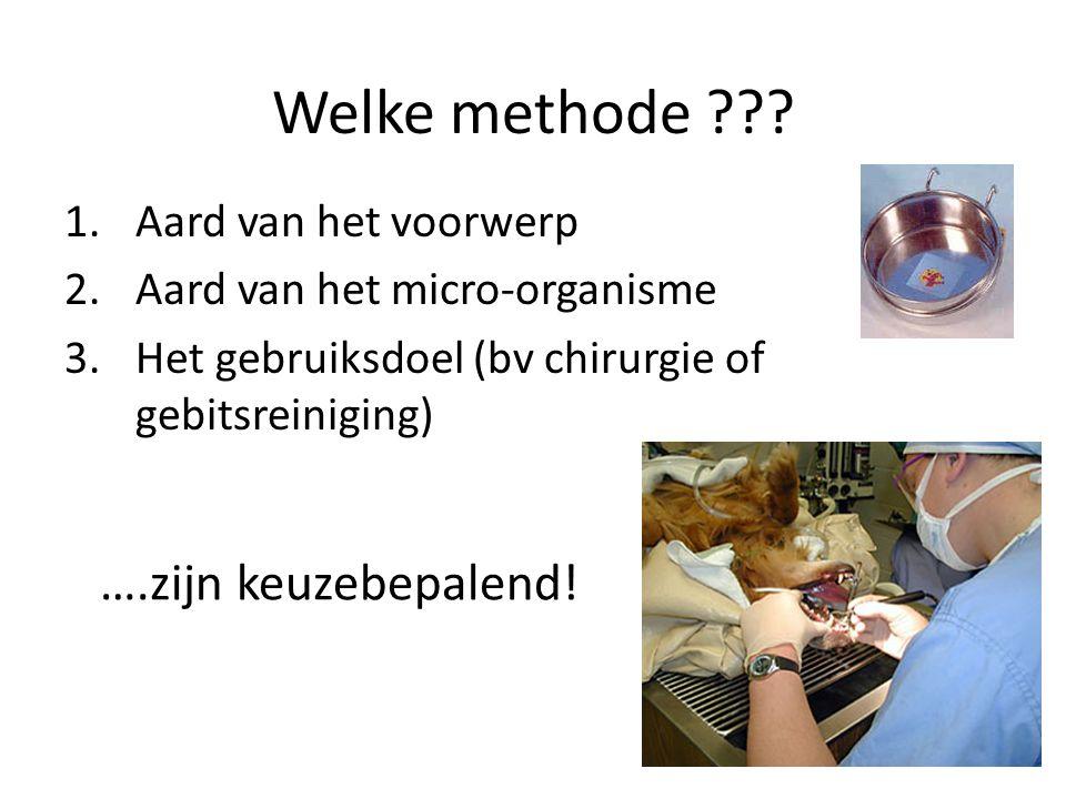 Werking van … Reinigingsmiddel – Weekt het vuil snel(ler dan alleen water) los Desinfectiemiddel (ontsmettingsmiddel) – Doodt micro-organismen Inweken