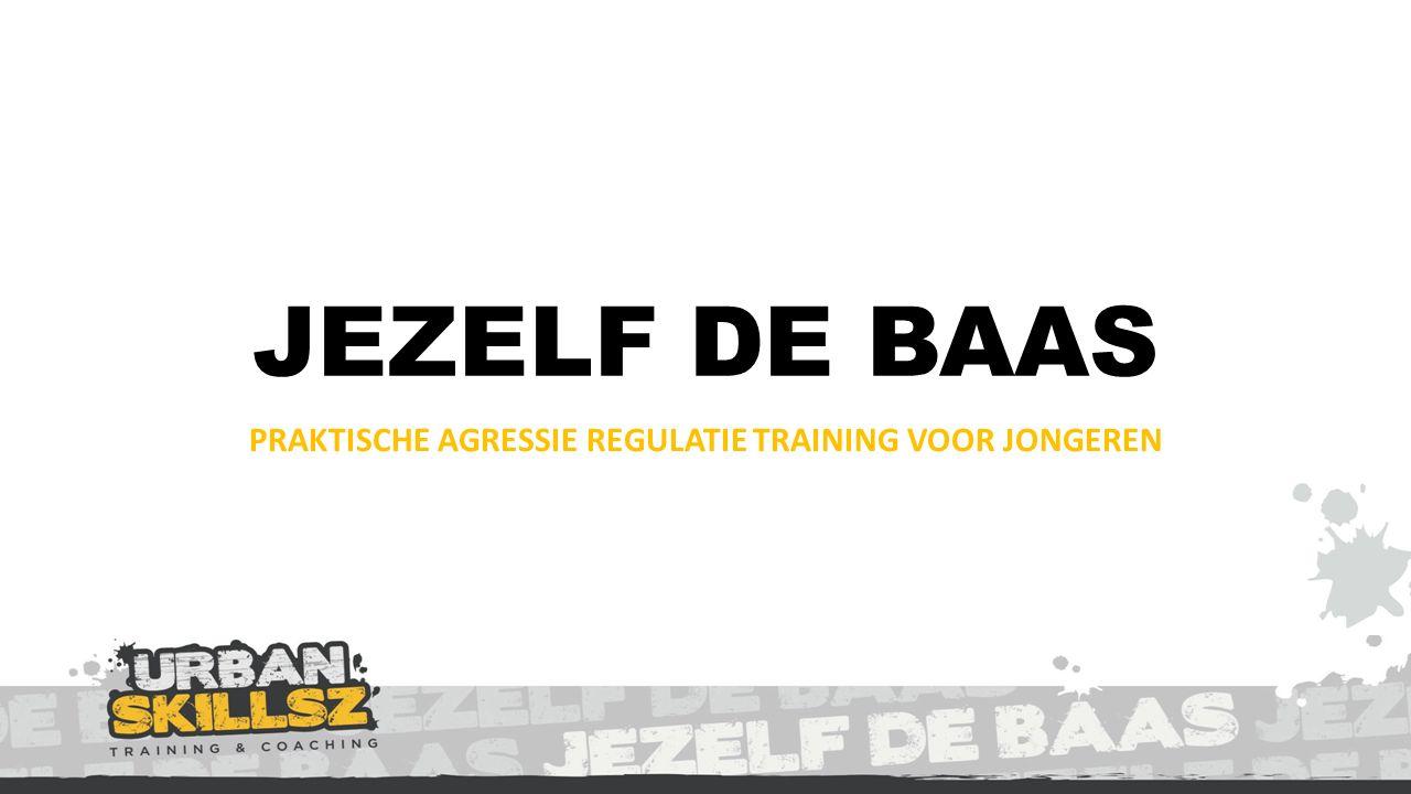 JEZELF DE BAAS PRAKTISCHE AGRESSIE REGULATIE TRAINING VOOR JONGEREN