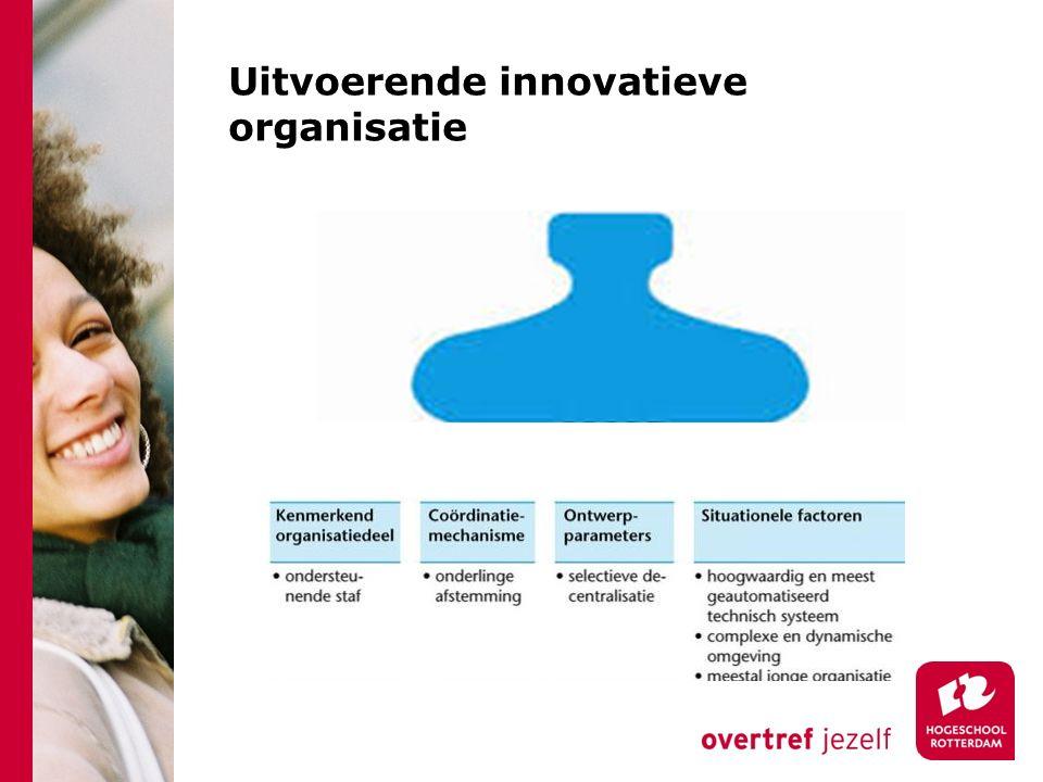 Uitvoerende innovatieve organisatie