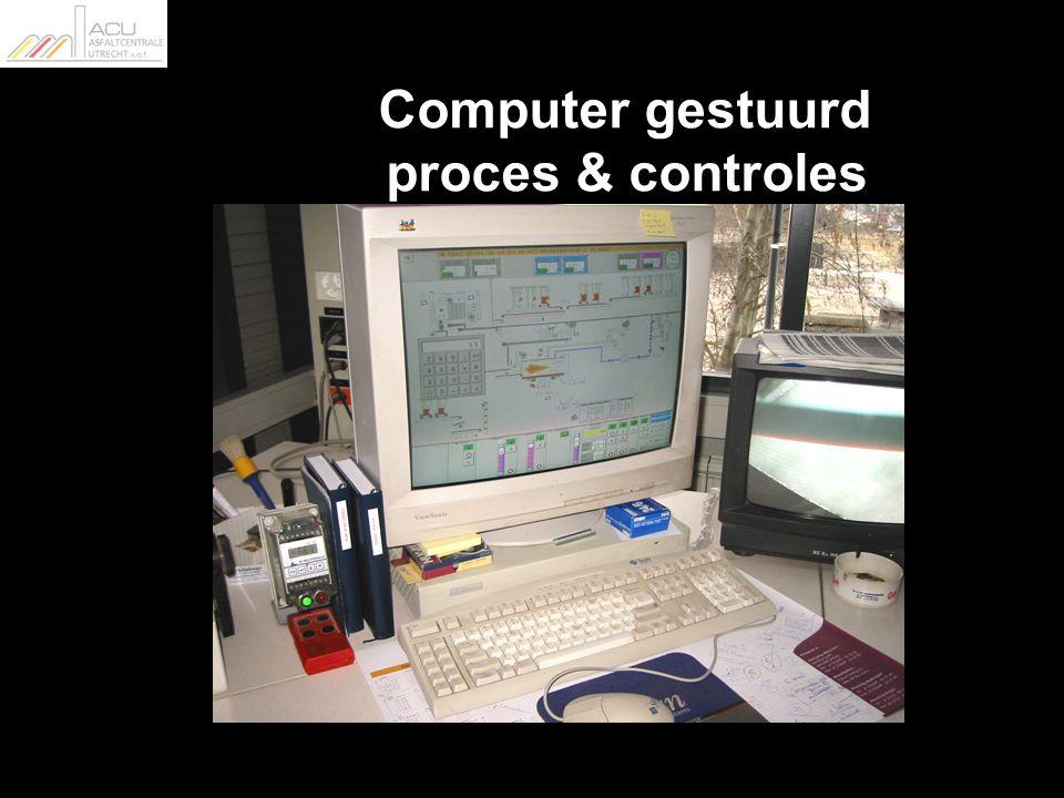 Computer gestuurd proces & controles