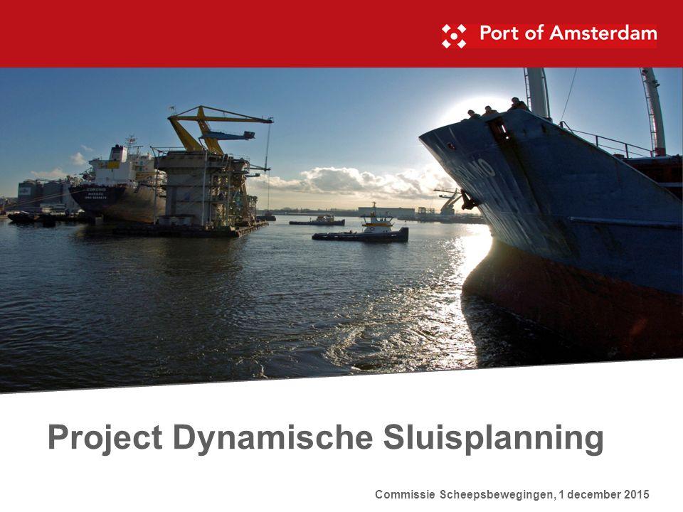 Project Dynamische Sluisplanning Commissie Scheepsbewegingen, 1 december 2015
