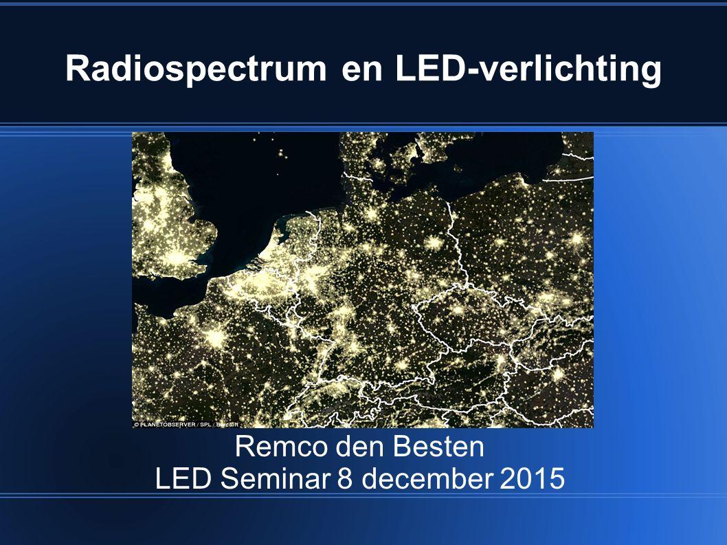 Samenvattend LED-verlichting: (vaak) goed voor het milieu maar (heel vaak) slecht voor de ether !