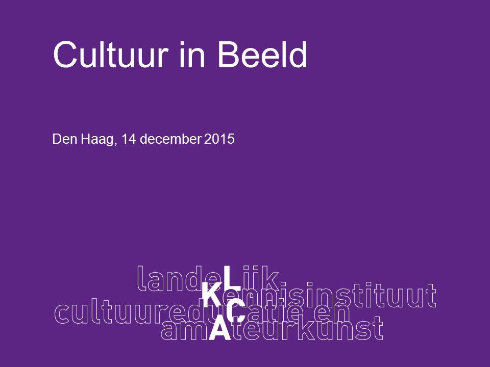 Cultuur in Beeld Den Haag, 14 december 2015