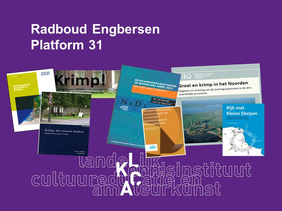 Radboud Engbersen Platform 31