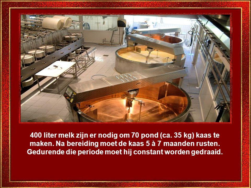 Een bezoek aan de kaasfabrieken is een compleet nieuwe belevenis. Men geeft er uitleg over het bereidingsproces van de Gruyèrekaas.