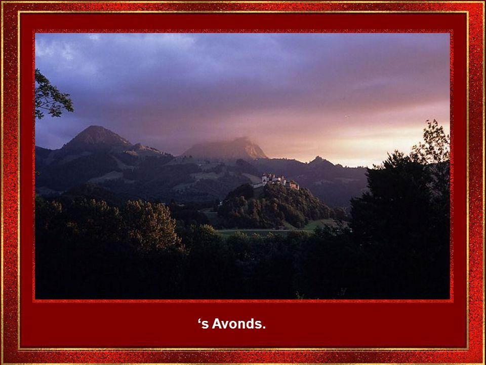 Het landschap lijkt geschapen door romantische schilders.