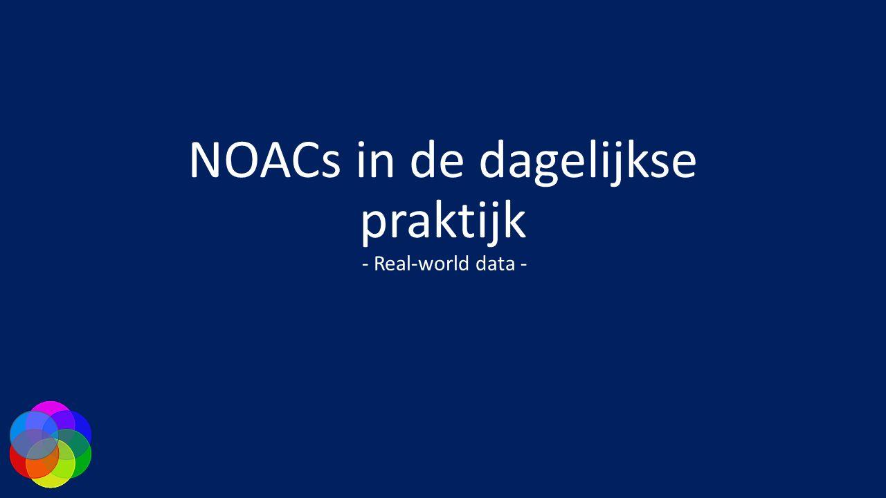 NOACs in de dagelijkse praktijk - Real-world data -