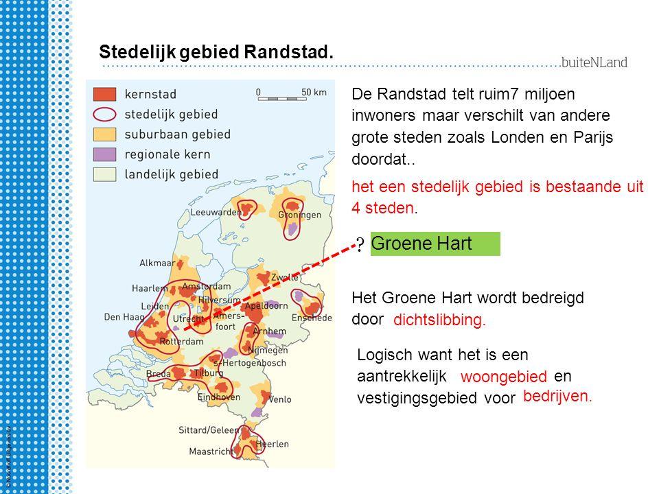 Bij welk uitgangspunt van ruimtelijke ordening past de bescherming van het Groene Hart.
