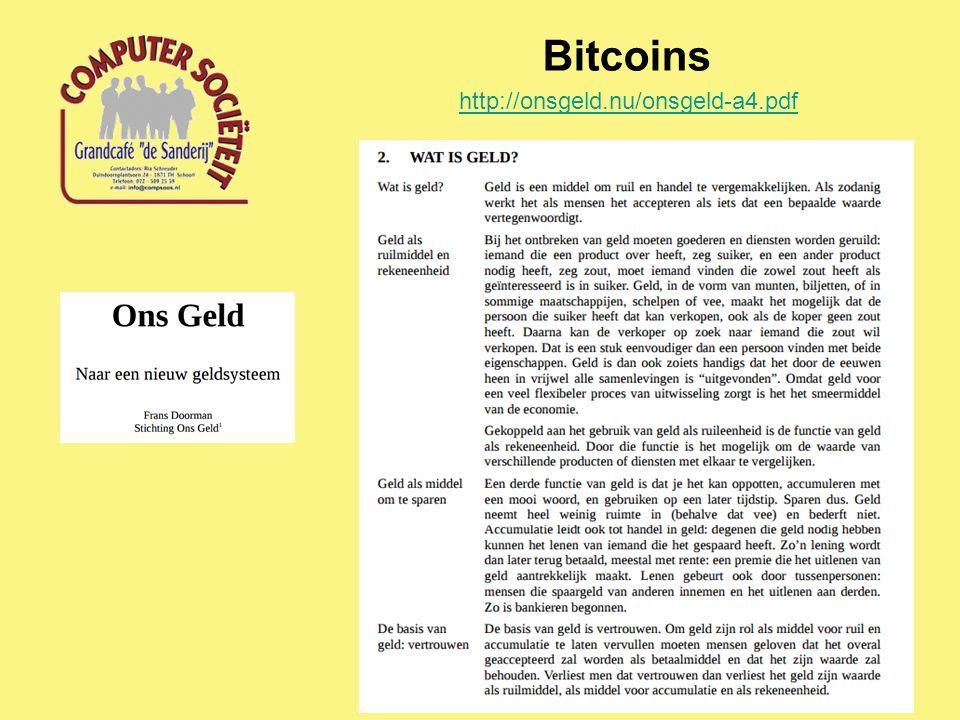 Bitcoins http://onsgeld.nu/onsgeld-a4.pdf