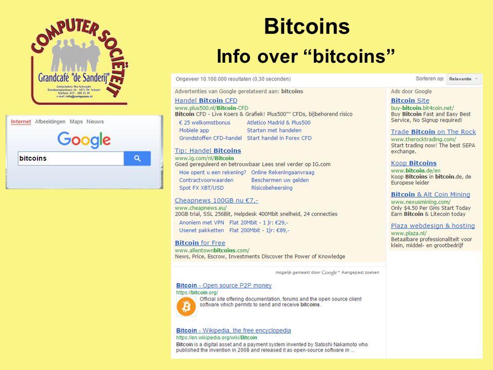 "Bitcoins Info over ""bitcoins"""