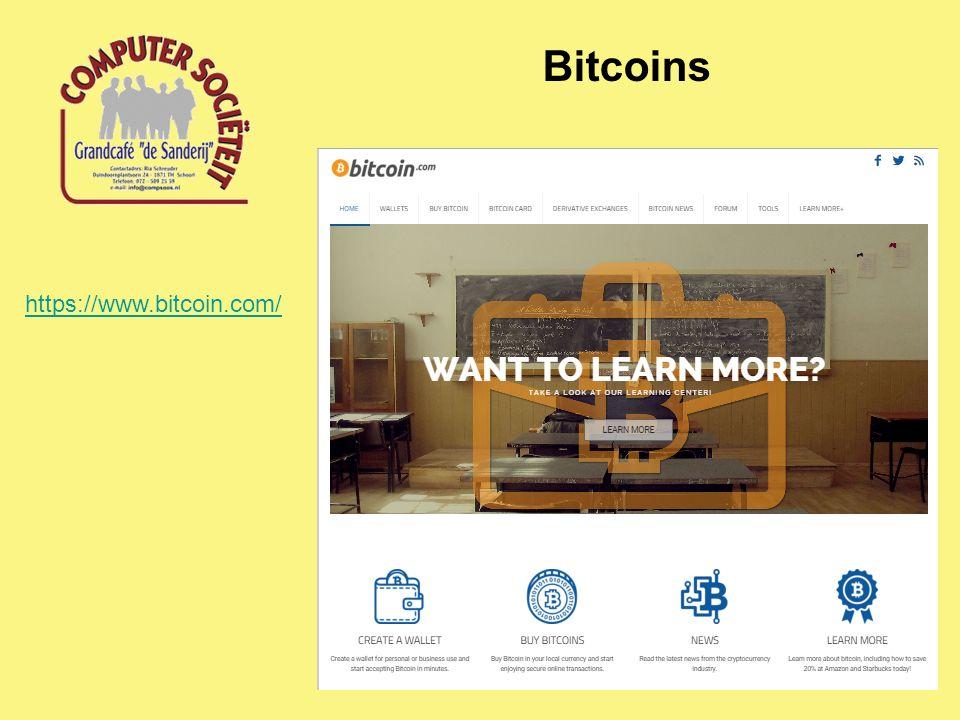 Bitcoins https://www.bitcoin.com/