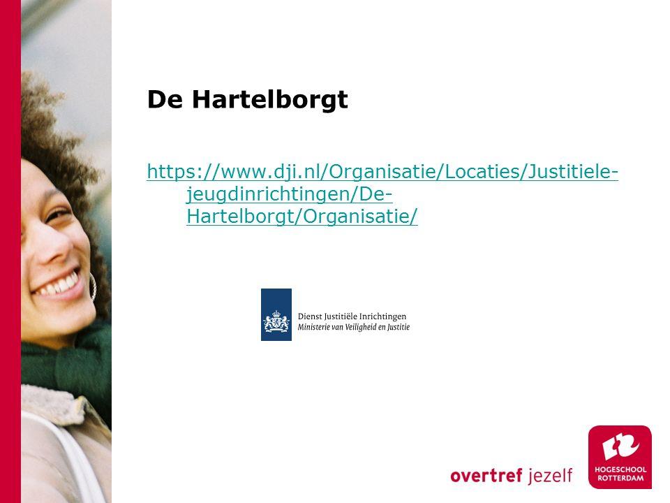 De Hartelborgt https://www.dji.nl/Organisatie/Locaties/Justitiele- jeugdinrichtingen/De- Hartelborgt/Organisatie/