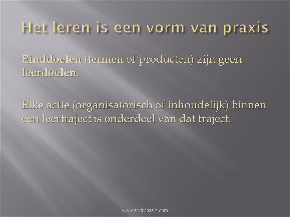 André Baars, Onderwijspsycholoog (www.andrebaars.com)