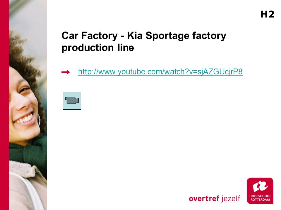 Car Factory - Kia Sportage factory production line http://www.youtube.com/watch?v=sjAZGUcjrP8 H2