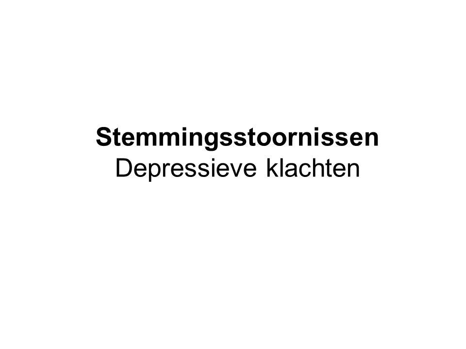 Interactie depressie en somatische aandoeningen Veel lichamelijke aandoeningen kunnen leiden tot een depressie.