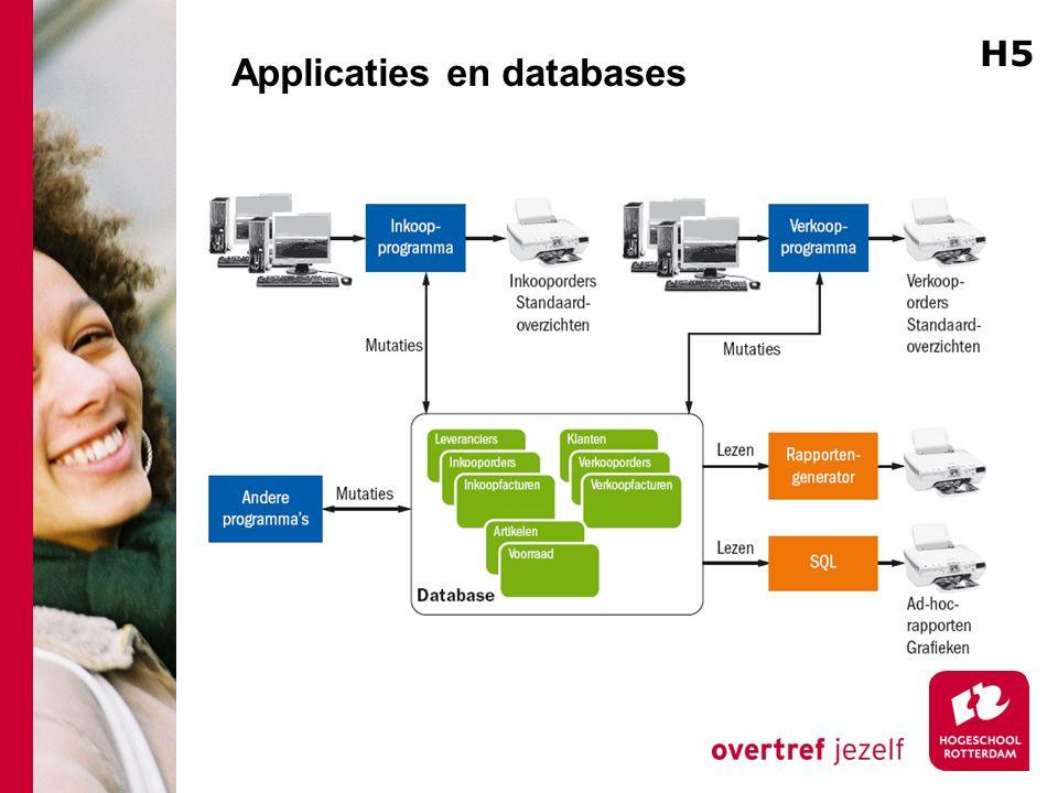Applicaties en databases H5