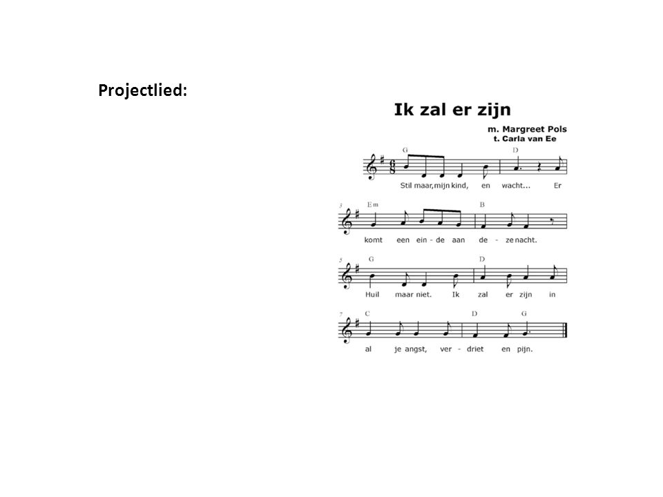 Projectlied: