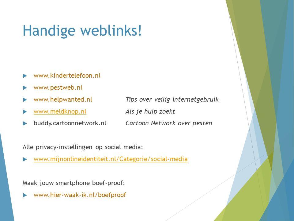 Handige weblinks.