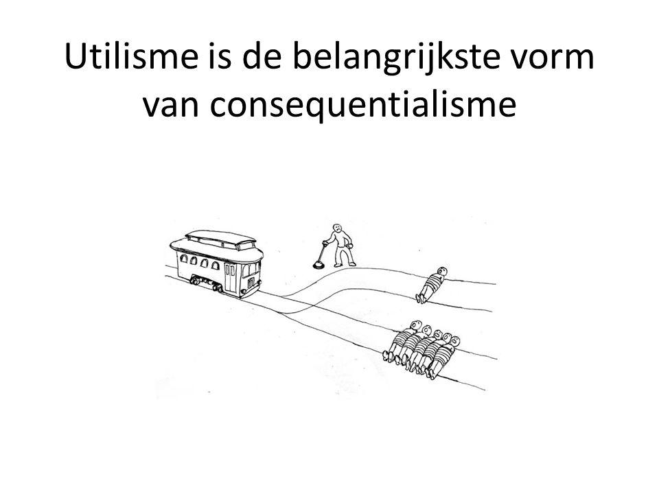 Utilisme is de belangrijkste vorm van consequentialisme