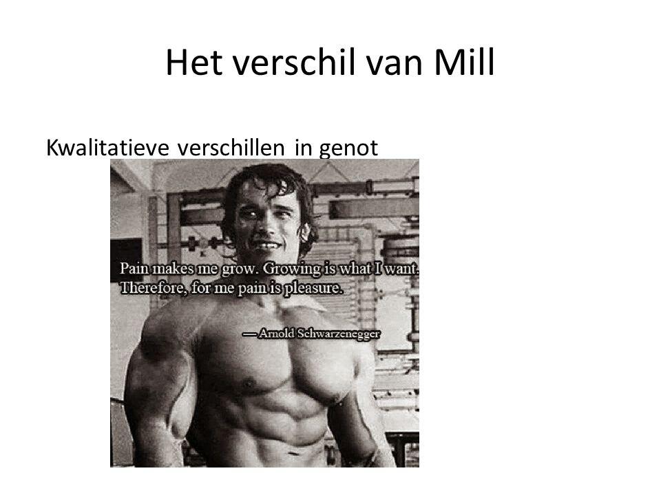 Het verschil van Mill Kwalitatieve verschillen in genot
