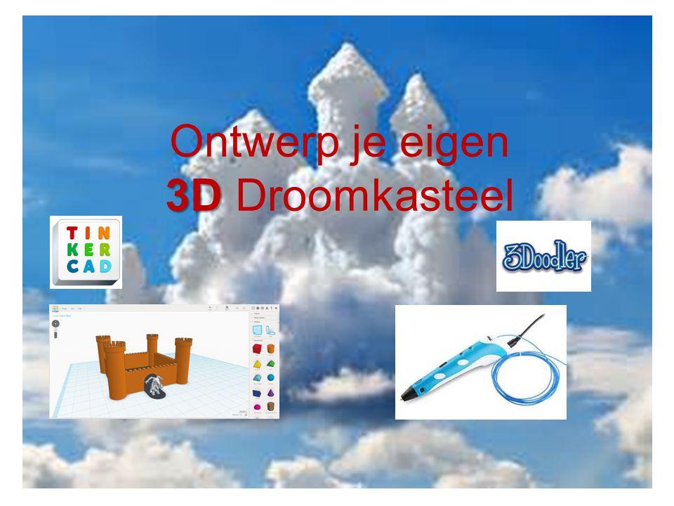 Ontwerp je eigen 3D 3D Droomkasteel