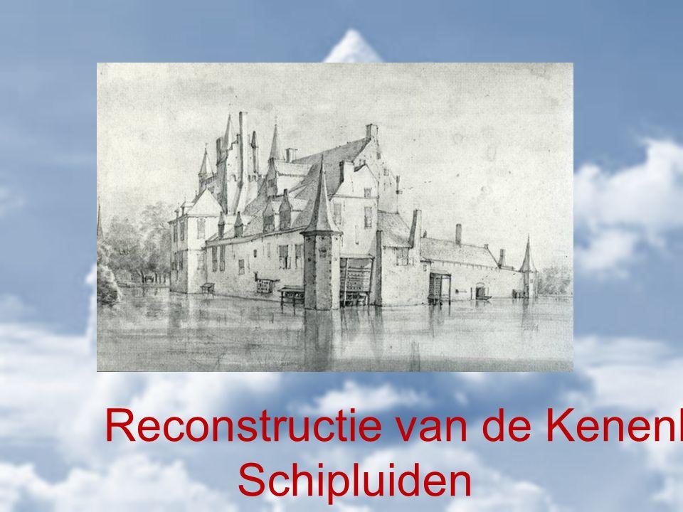 Reconstructie van de Kenenburg Schipluiden