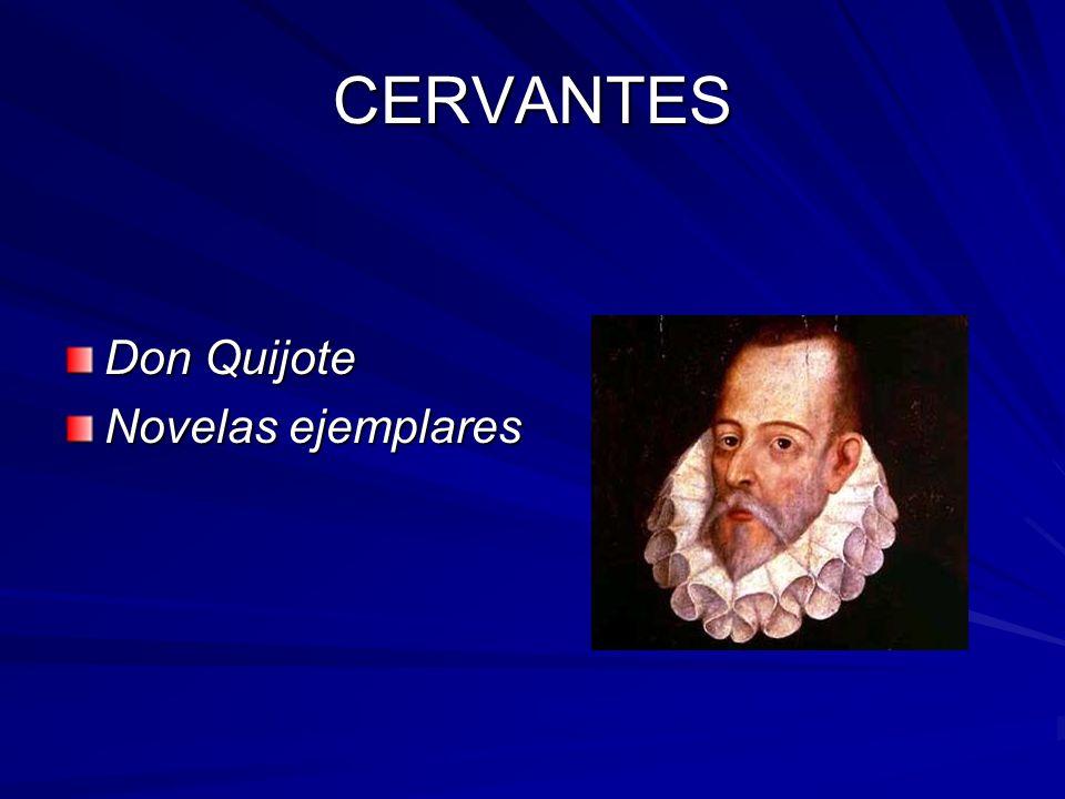 CERVANTES Don Quijote Novelas ejemplares