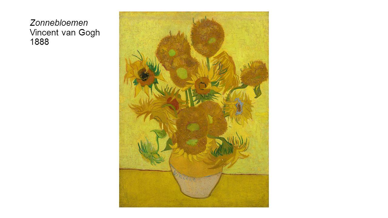 Zonnebloemen Vincent van Gogh 1888