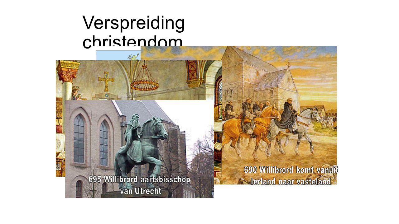 Verspreiding christendom