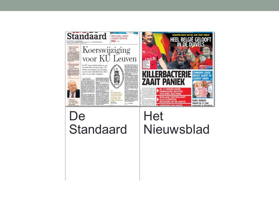 De Standaard Het Nieuwsblad