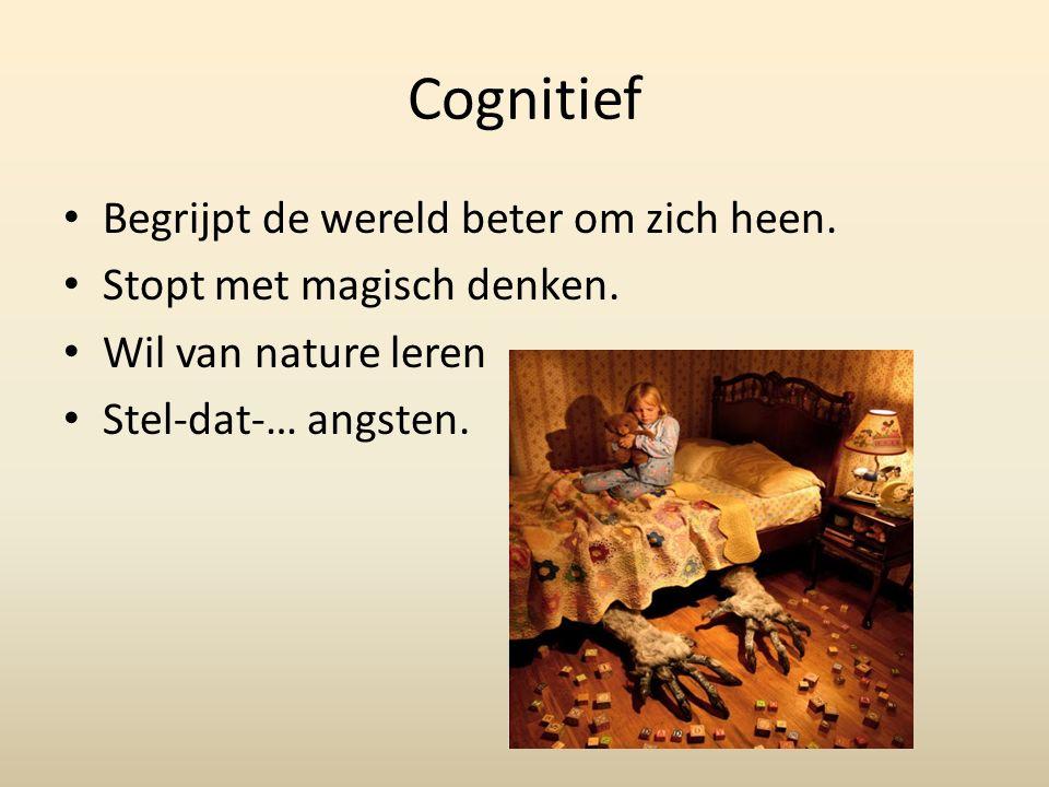 Cognitief Begrijpt de wereld beter om zich heen. Stopt met magisch denken.