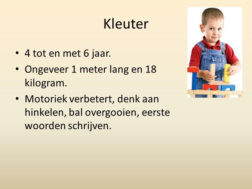 Cognitief De zinnen worden complexer.Geweten is volop in ontwikkeling.