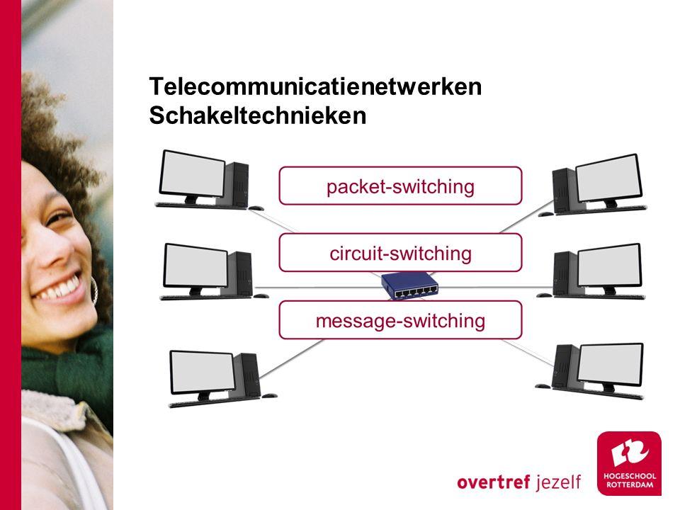 Telecommunicatienetwerken Schakeltechnieken