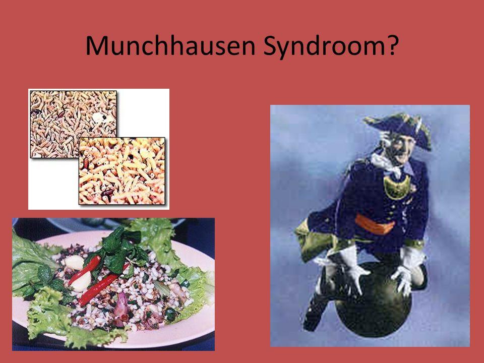 Munchhausen Syndroom?