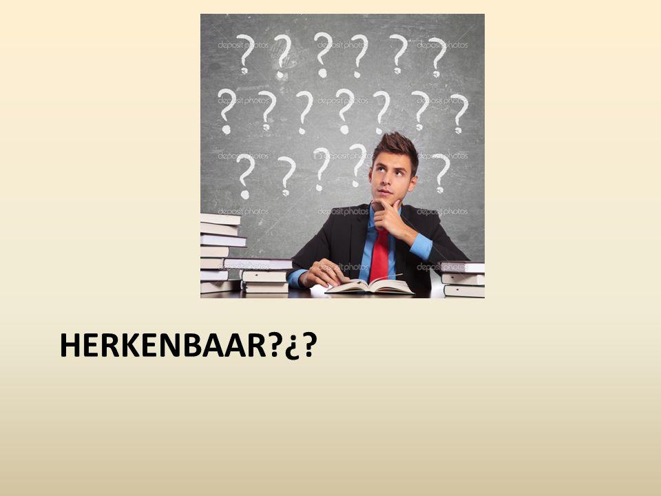 HERKENBAAR?¿?