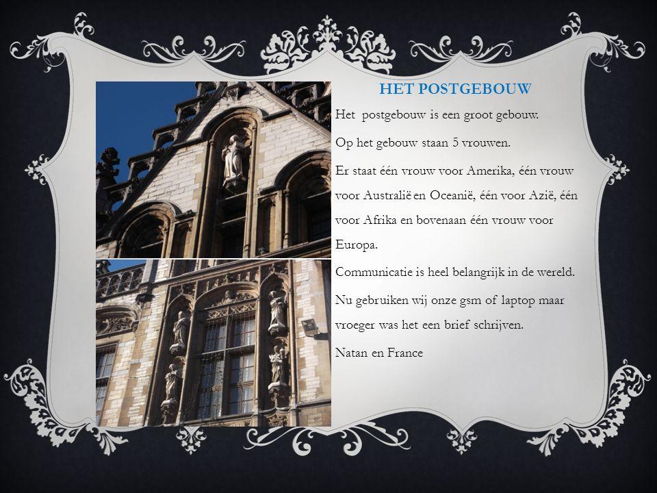 GRAVENSTEEN Het Gravensteen is een Middeleeuws kasteel, het is heel groot en ook heel mooi. Vroeger was er een studentenaanval. De studenten zijn same