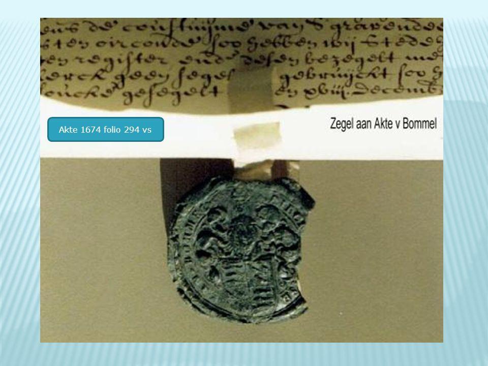 Akte 1674 folio 294 vs