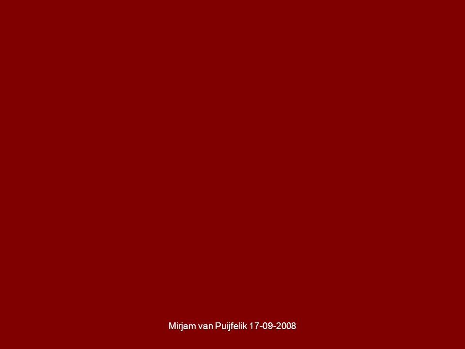 Mirjam van Puijfelik 17-09-2008
