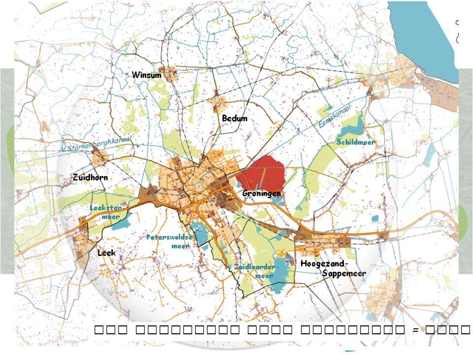 Gebiedscoöperatie Westerkwartier – November 2015 7 SUT-Coöperatie Stadscoöperatie Heerlijk Groningen De laagveengordel Het stedelijk veld Groningen = Stad en ommeland